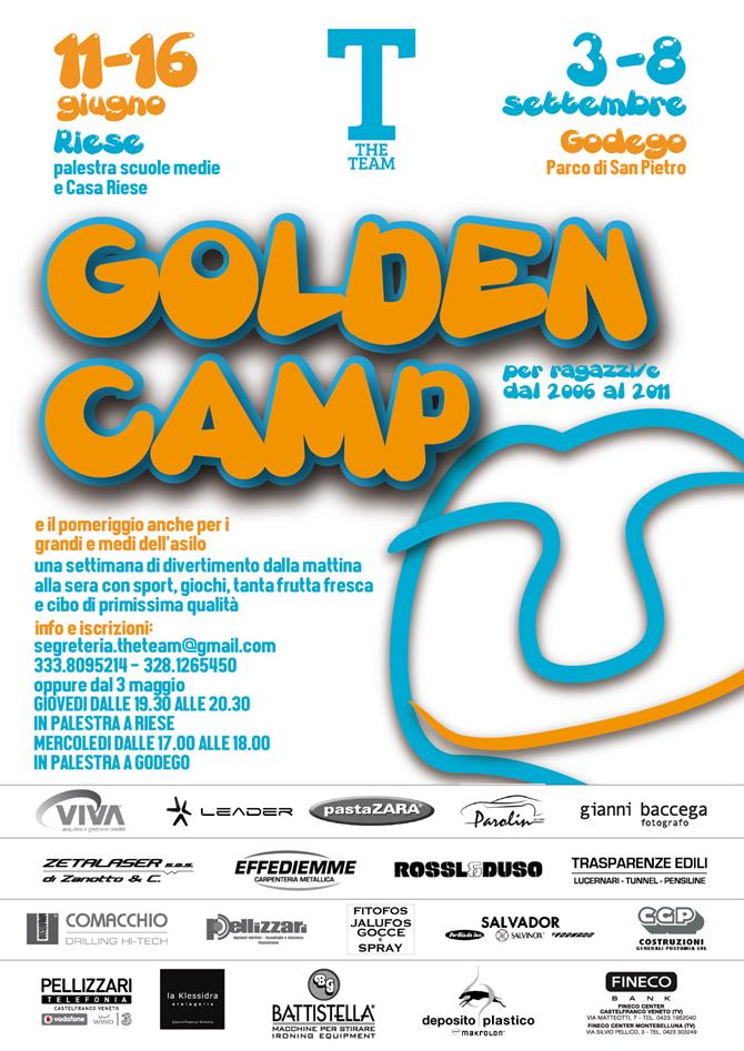 golden camp 18